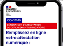 Attestation de déplacements